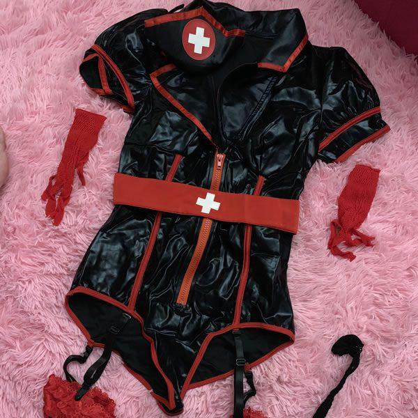 Black Nurse Costume