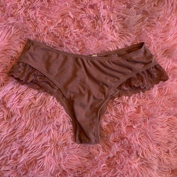 Burgundy Panties