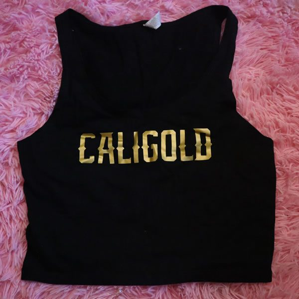 Caligold Crop Top