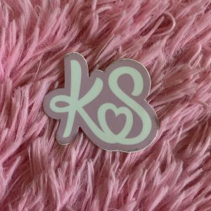 KS Logo Sticker