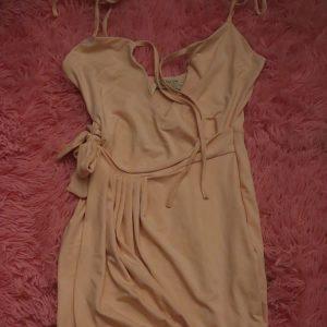 Light Pink Tie Dress
