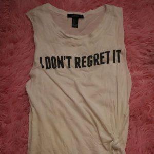 No Regret Tank