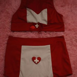 Red Nurse Costume