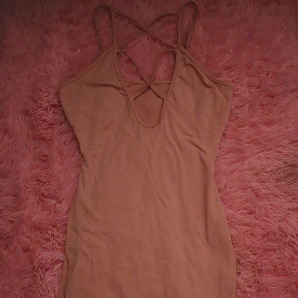 Pink Cross Dress