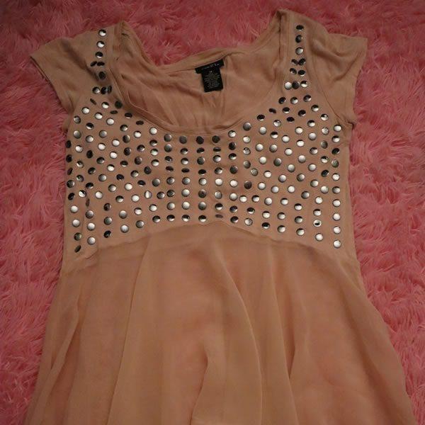Sheer Sparkle Shirt