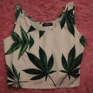 Weed Crop Top